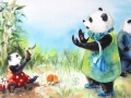 Patty Panda 1 time to go Uh Oh!